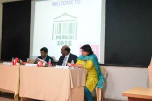 Dr. Monica Khanna, Kumar Rajagopalan and Deba Adhya at NRS 2015 Inauguration