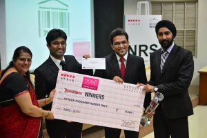 Kurukshetra Winners with Prof. (Dr.) Vandana Khanna